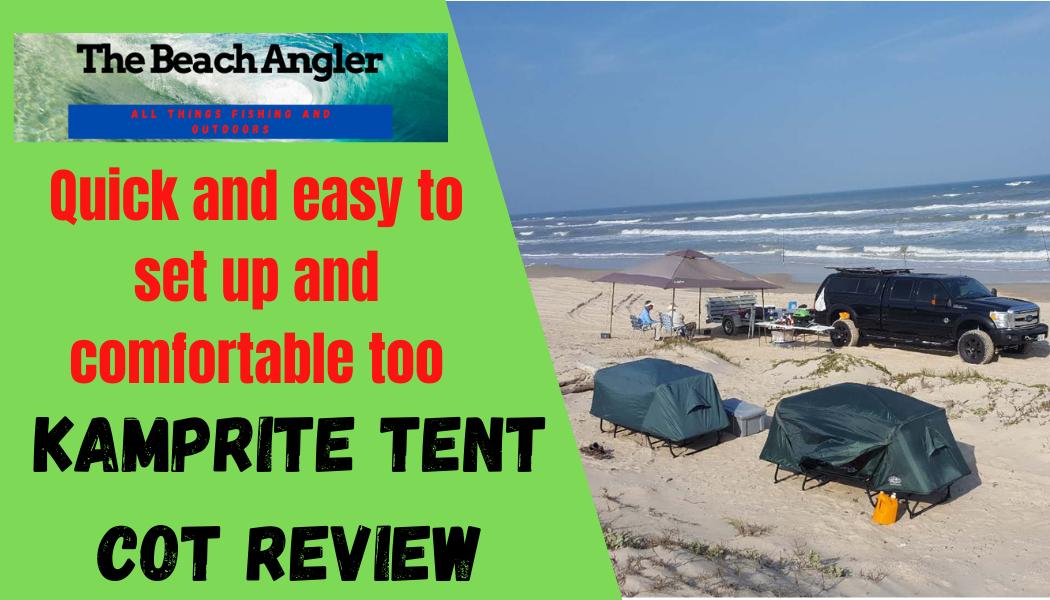 Kamprite Tent Cot Review