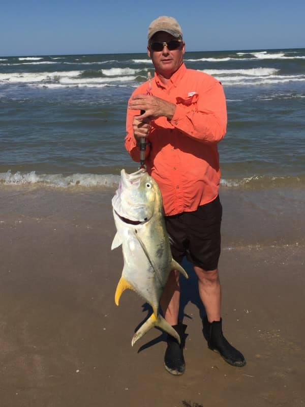 Jack Crevalle from the Texas Surf