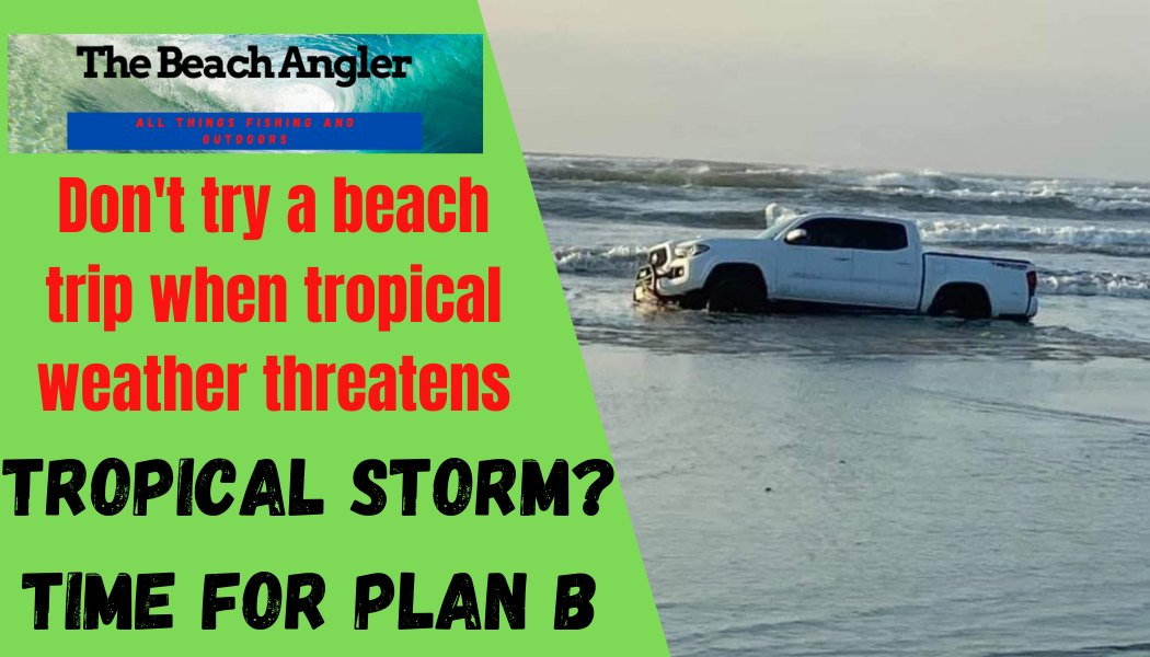tropical storm - time for plan B