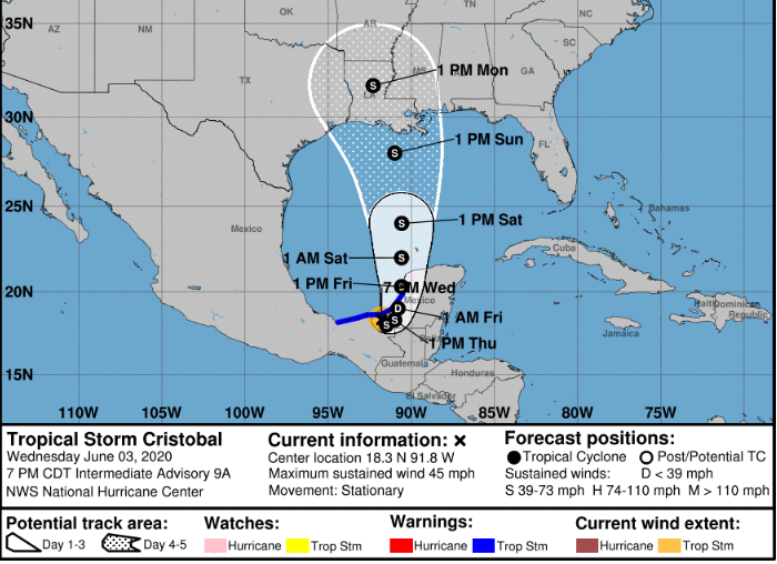 Tropical Storm Forecast
