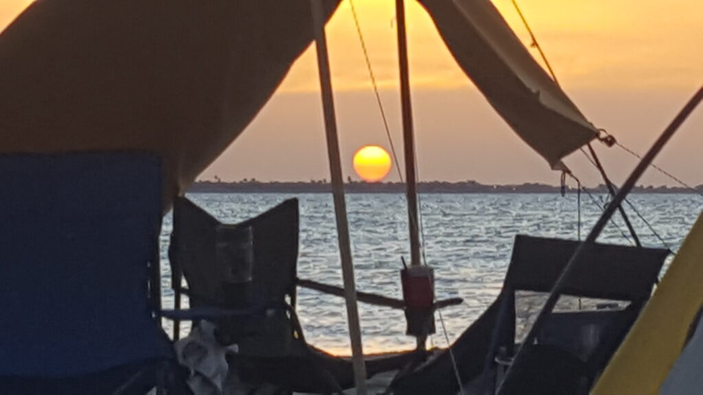 Baffin Bay Texas Sunset
