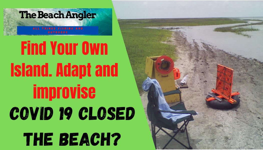 COVID 19 closed the beach