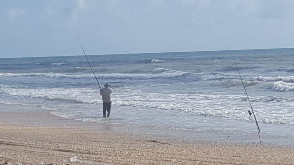 Cast and Blast - surf fishing