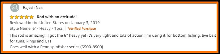penn rod review