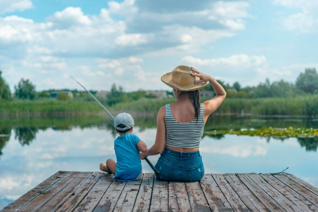 Fishing - start em young