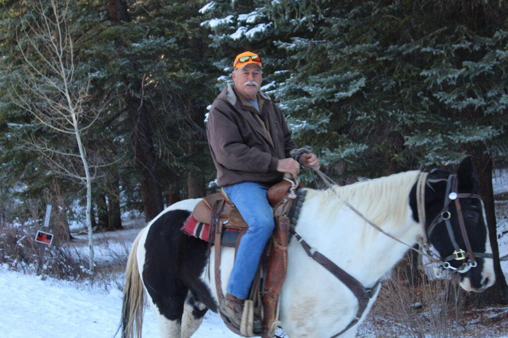 elk hunt - Ken Kuhn Pony ride