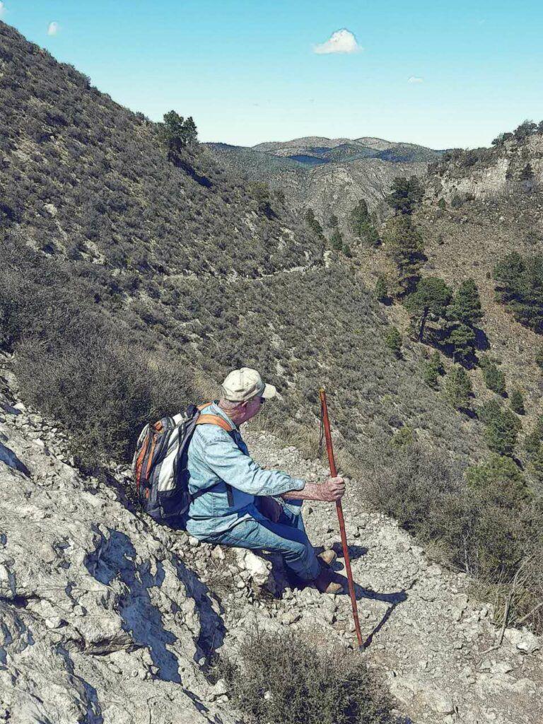 Guadalupe Peak - break time