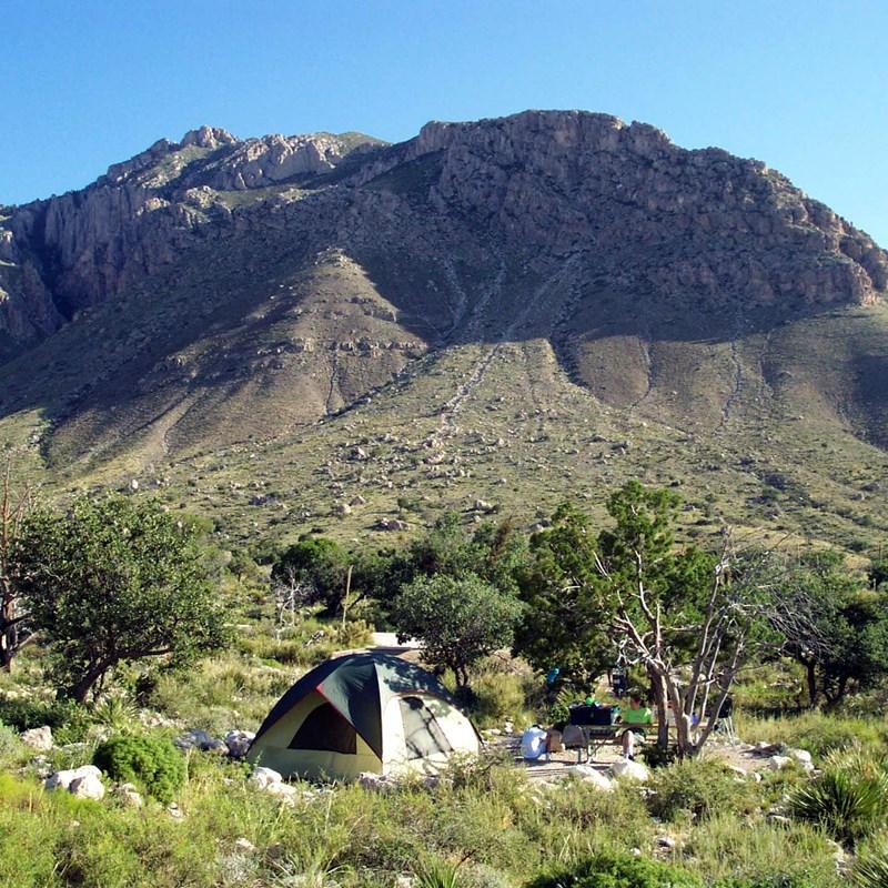 Guadalupe Peak - pine springs campground