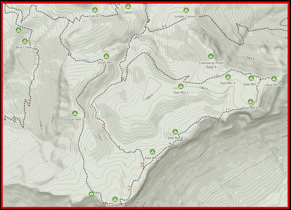 Big Bend National Park - Backcountry campsites