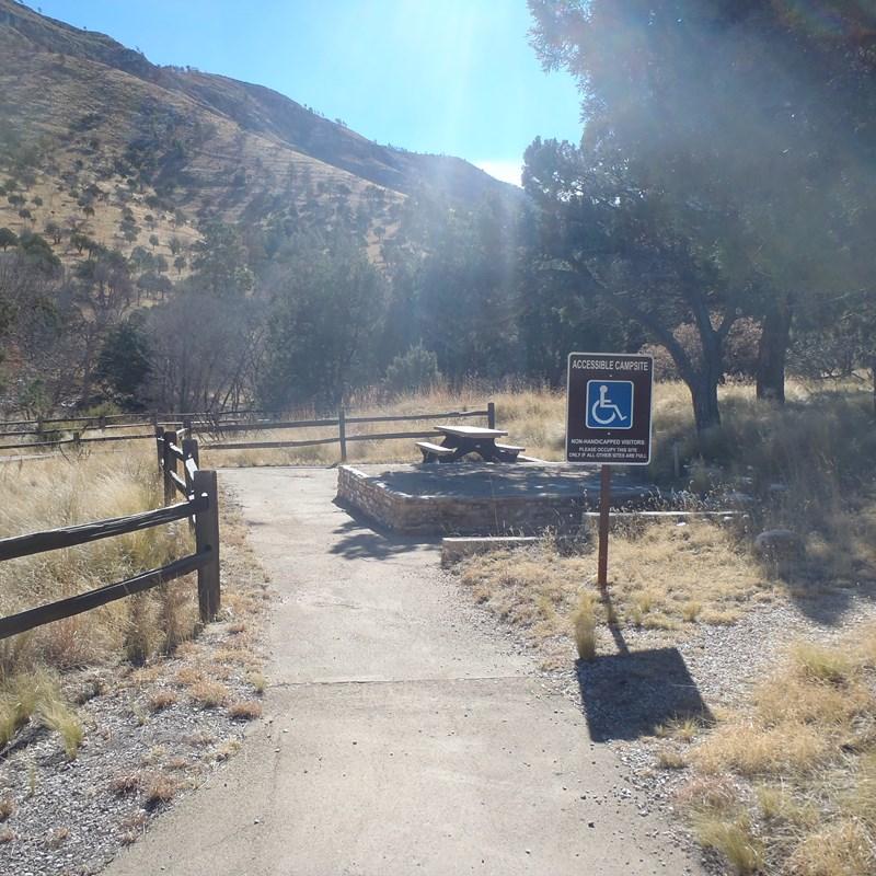 Guadalupe Peak - dog canyon campsite
