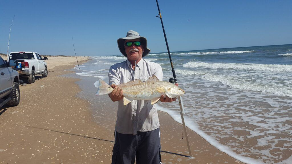 Texas Surf Fishing in spring 2021