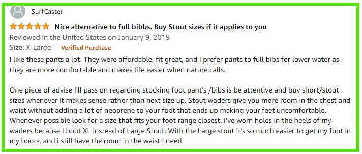 frogg toggs guide pants review