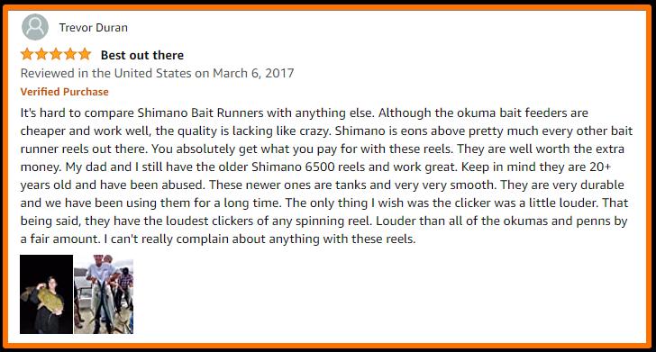 Shimano Baitrunner review