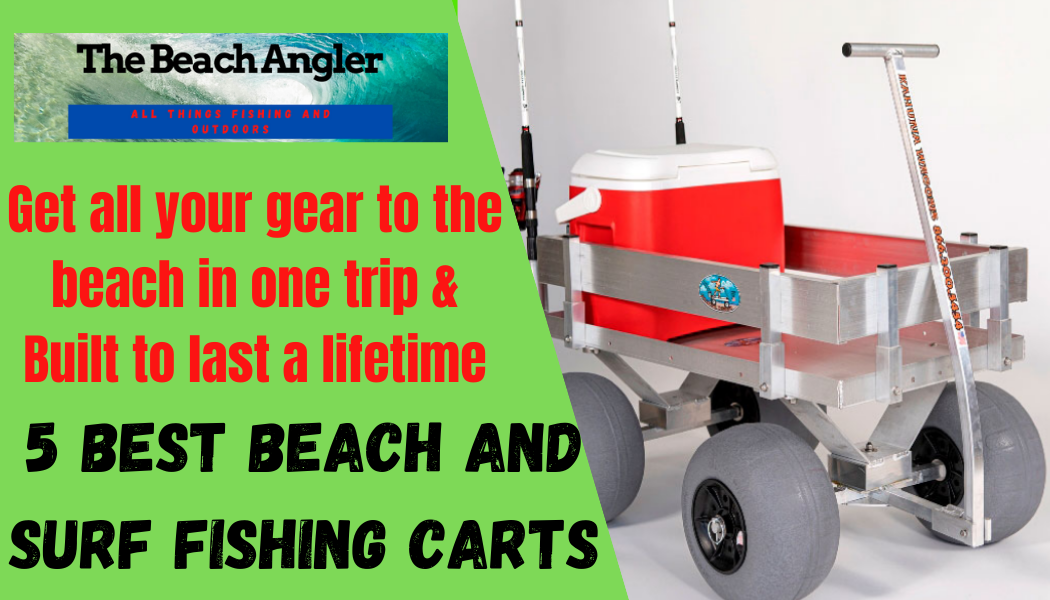 5 best beach and surf fishing carts