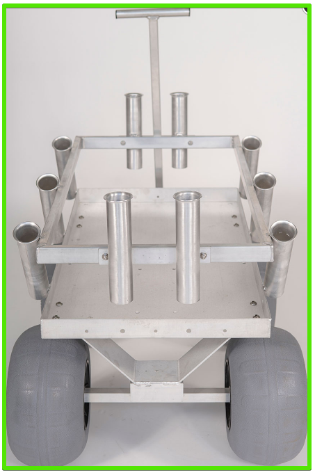 alumacart sidekick beach cart
