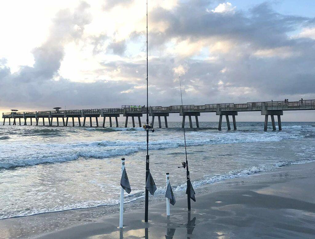 Sand Flea Surf Fishing Rod Holders
