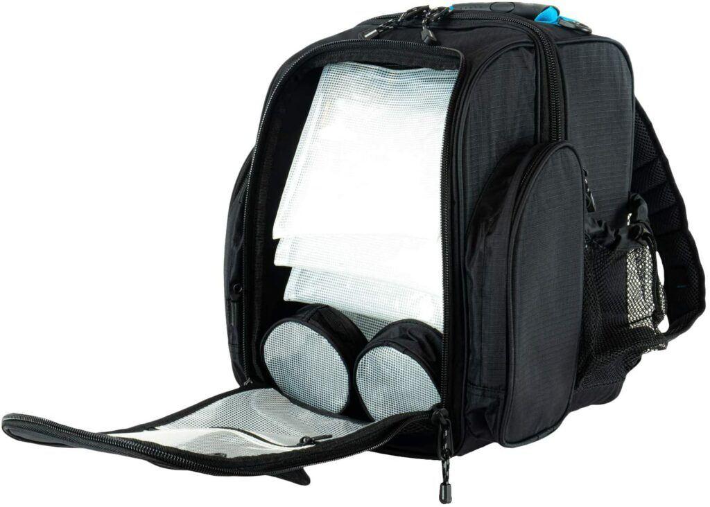 Shimano Blackmoon fishing tackle backpack