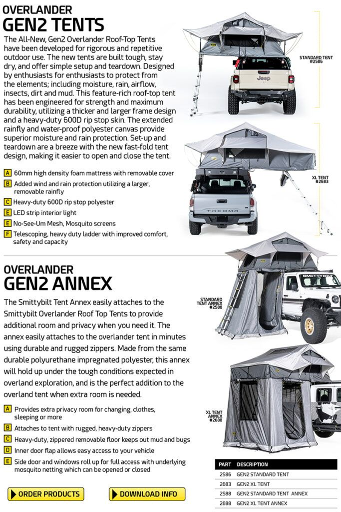 smittybilt overlander features