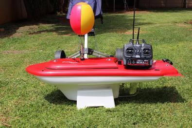 Aqua Cat Turbo X RC Bait boat complete set up