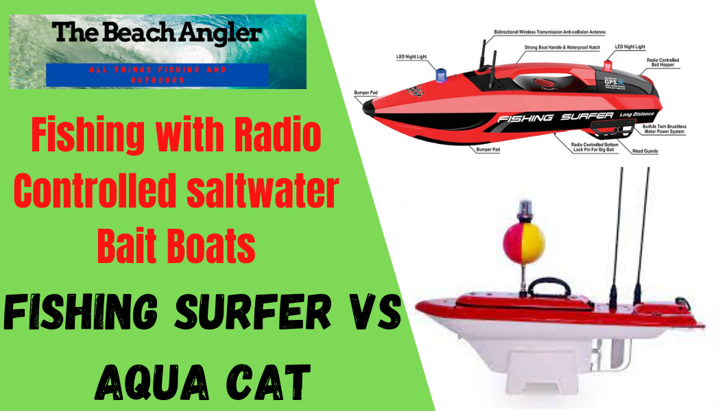 RC Bait Boats for saltwater