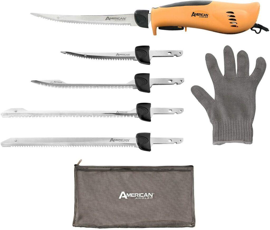 American Angler Pro fillet knife kit